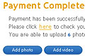 authorizeNet payment - Listing paid