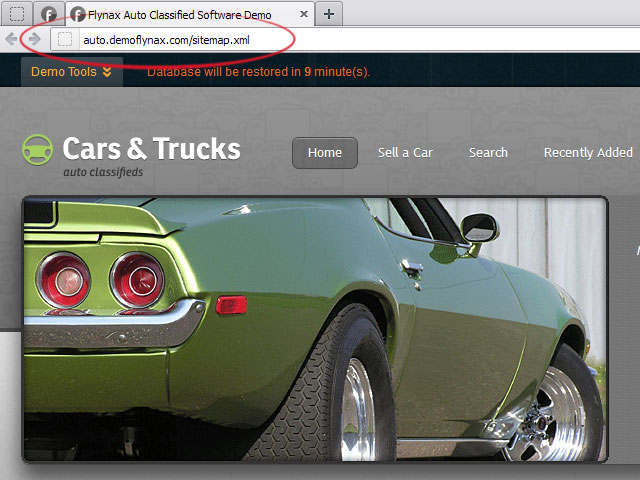 Google And Yahoo Sitemaps :: Classifieds Software Plugins
