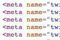 Meta tags source code example